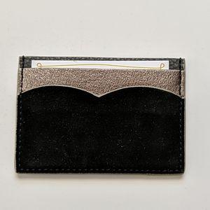 Anthropologie Gemma Card Case Wallet Black